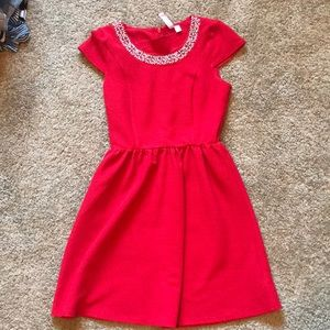 Red dress from Francesca's